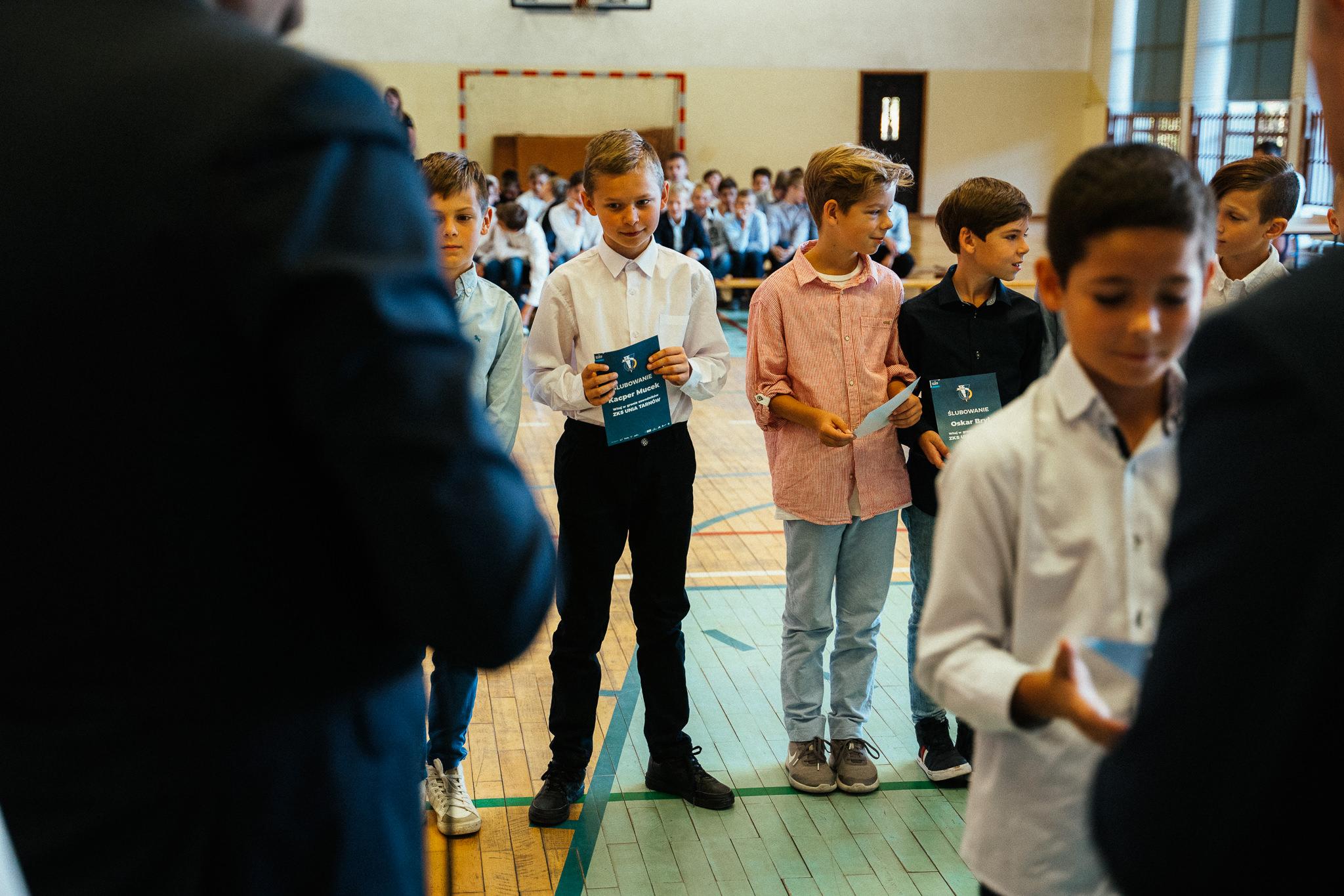 Dzień edukacji narodowej i ślubowanie uczniów